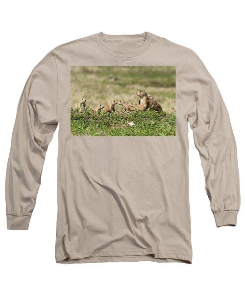 Prairie Dog Family 7270 Long Sleeve T-Shirt