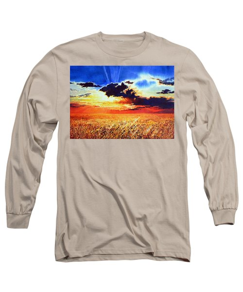 Prairie Gold Long Sleeve T-Shirt