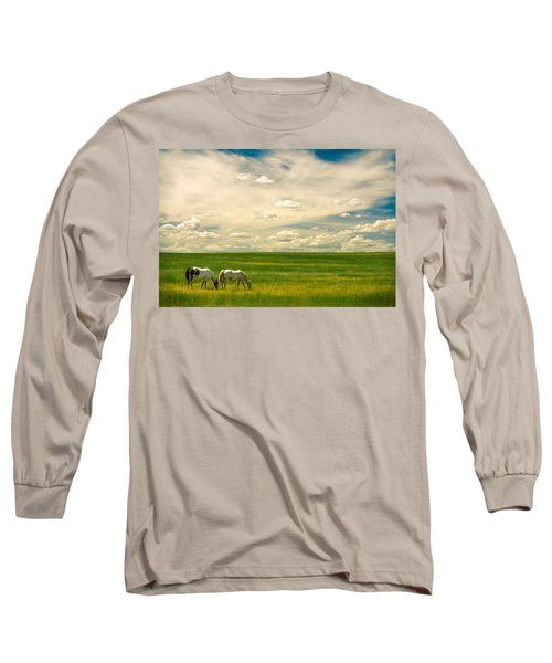 Prairie Horses Long Sleeve T-Shirt
