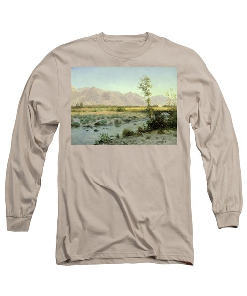 Prairie Landscape Long Sleeve T-Shirt