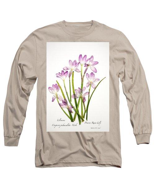 Prairie Rain Lily Long Sleeve T-Shirt