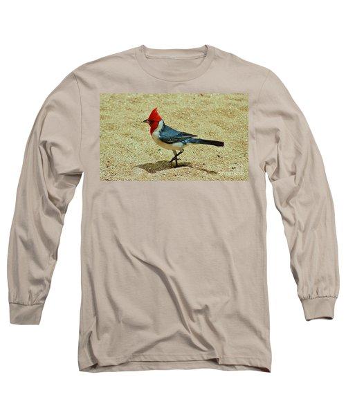 Prancing Brazil Cardinal Long Sleeve T-Shirt