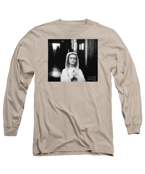 Long Sleeve T-Shirt featuring the digital art Prayer For Peace by Lyric Lucas