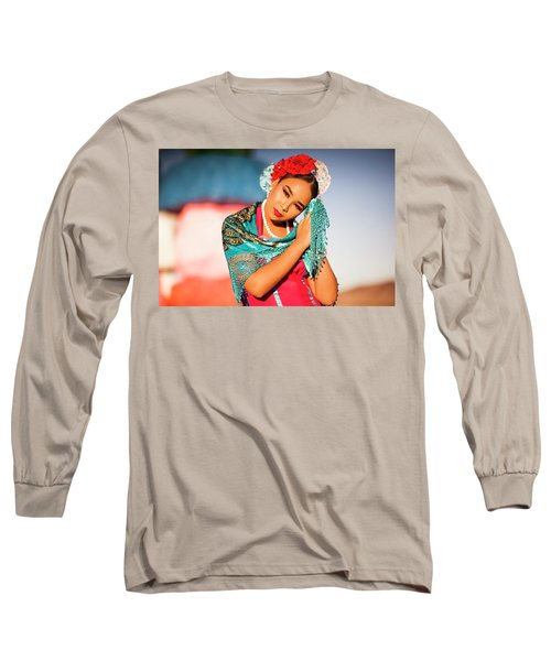 Praying Cathy Long Sleeve T-Shirt