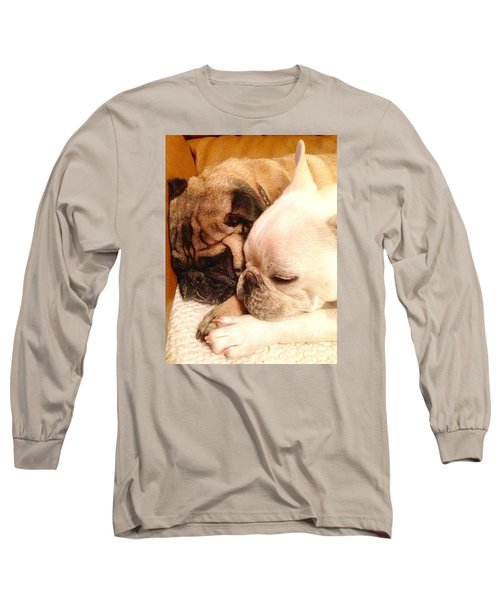 Praying Paws Long Sleeve T-Shirt by Russell Keating