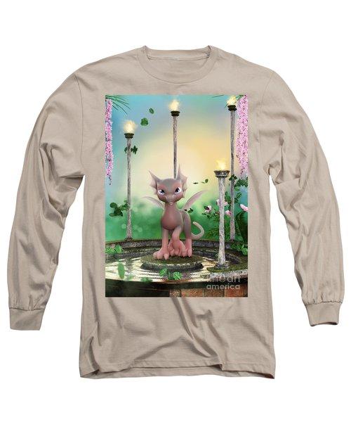 Precious In Pink Long Sleeve T-Shirt