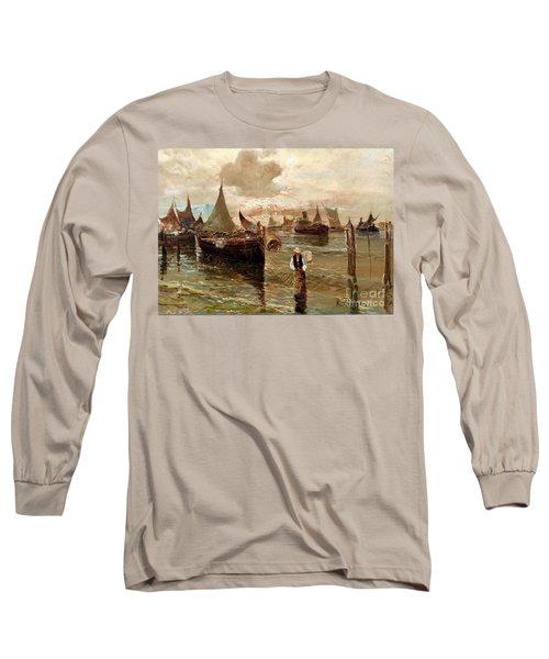 Preparing The Trap Long Sleeve T-Shirt