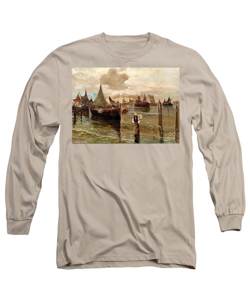 Preparing The Trap Long Sleeve T-Shirt