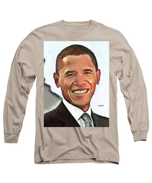 President Barack Obama Long Sleeve T-Shirt