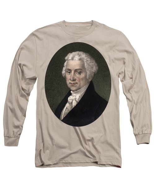 President James Monroe - Vintage Color Portrait Long Sleeve T-Shirt