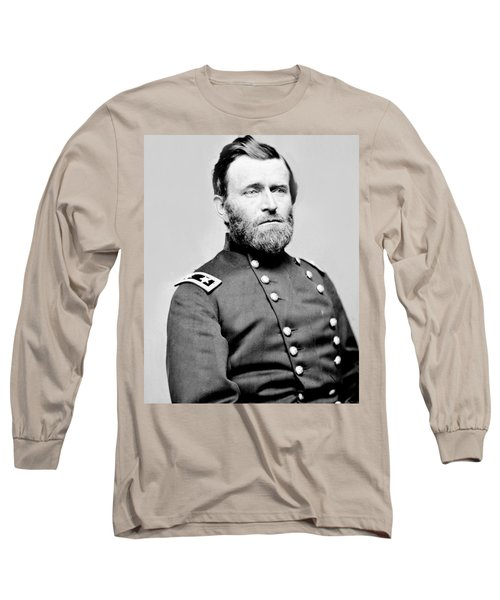 President Ulysses S Grant In Uniform Long Sleeve T-Shirt by International  Images