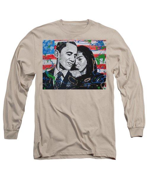 Presidential Love Long Sleeve T-Shirt