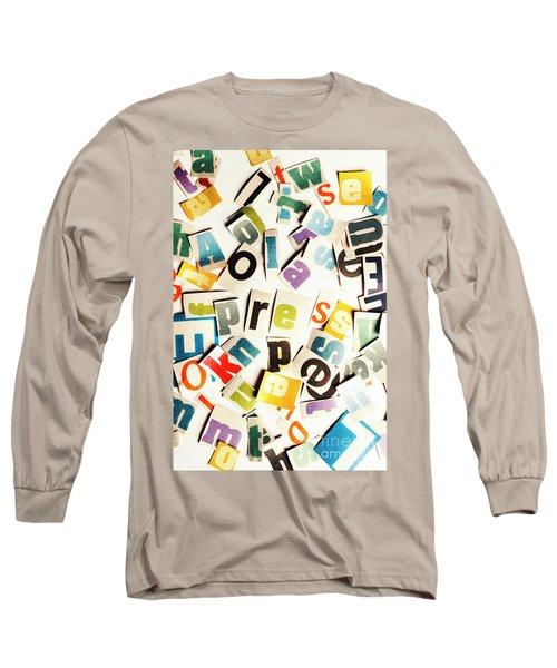 Press Reset Long Sleeve T-Shirt