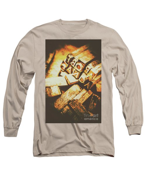Pressing The Hegelian Dialectic   Long Sleeve T-Shirt