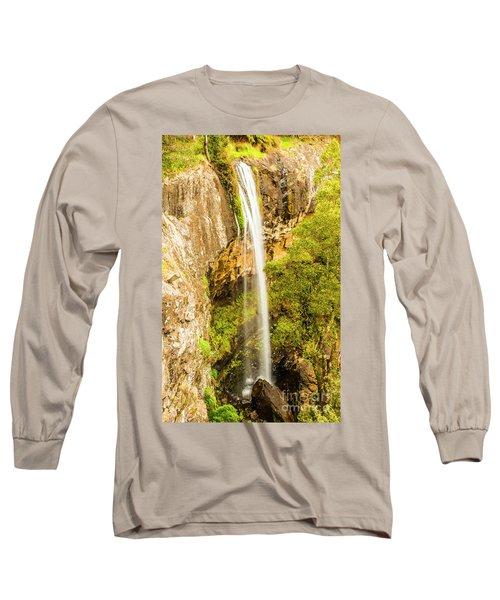 Preston Falls Tasmania Long Sleeve T-Shirt