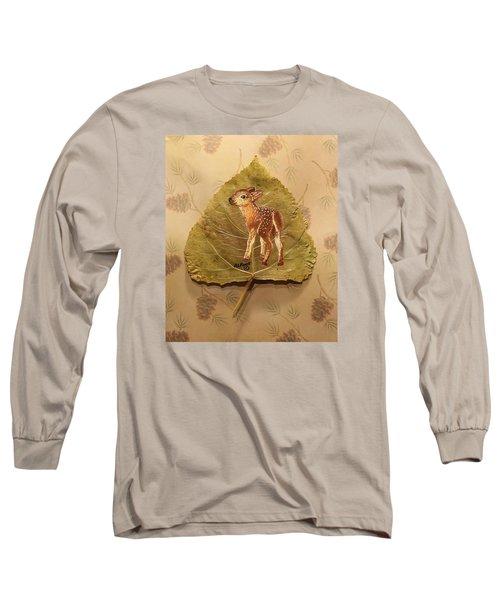 Pretty Baby Deer Long Sleeve T-Shirt