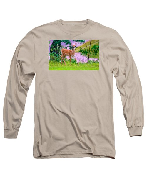 Pretty In Pink 3 Long Sleeve T-Shirt by Brian Stevens
