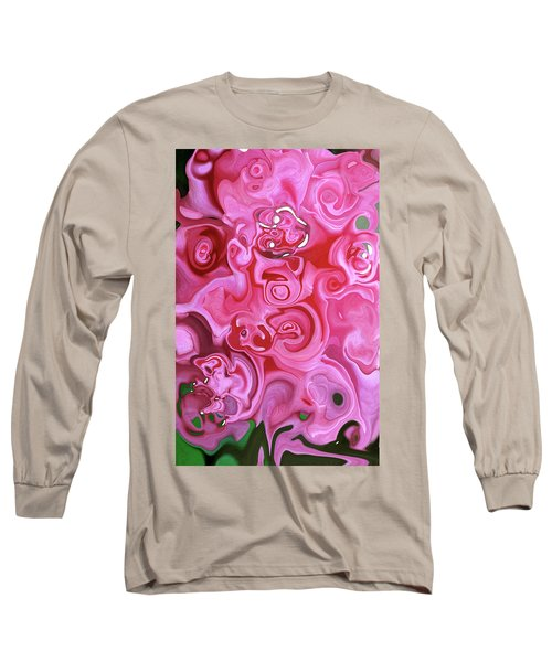 Pretty In Pink Long Sleeve T-Shirt by JoAnn Lense