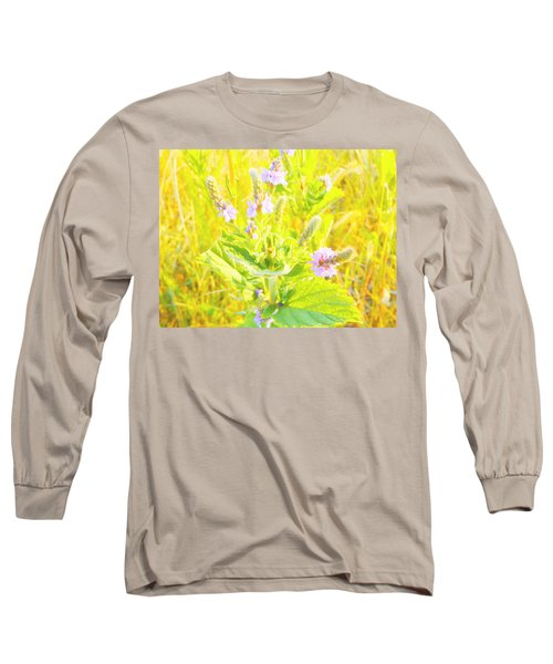 Pretty Lilac Long Sleeve T-Shirt