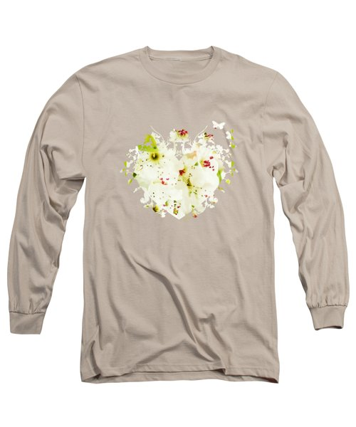 Pretty Pear Petals Long Sleeve T-Shirt