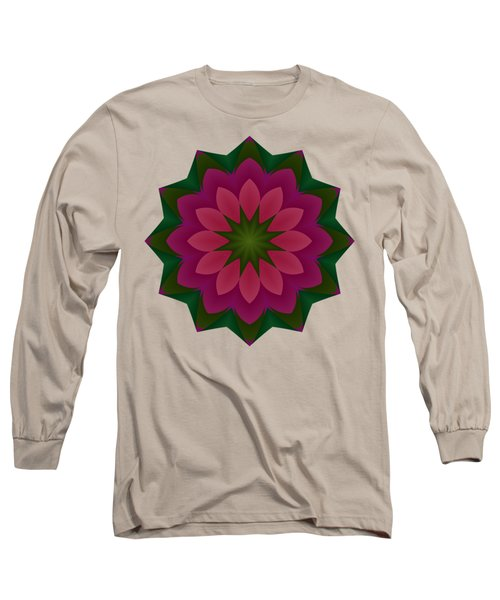 Pretty Pink Petals Long Sleeve T-Shirt