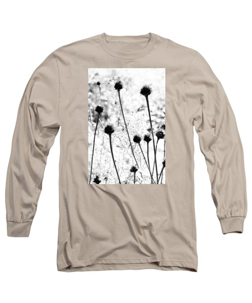 Long Sleeve T-Shirt featuring the photograph Prickly Buds by Deborah  Crew-Johnson