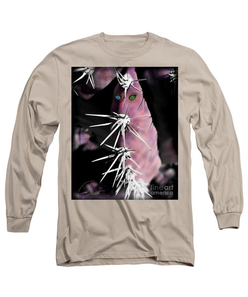 Prickly In Pink Long Sleeve T-Shirt