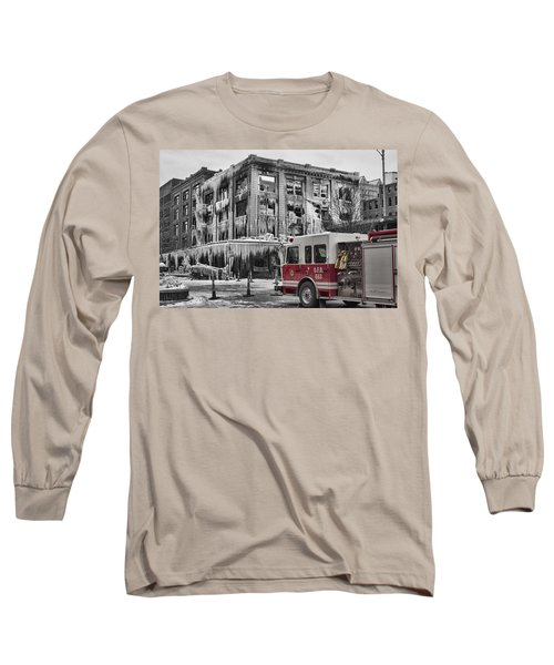 Pride, Commitment, And Service -after The Fire Long Sleeve T-Shirt