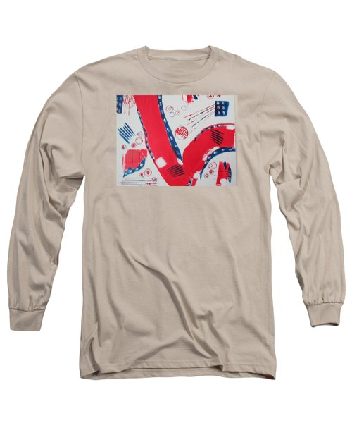 Pride - Glory - The Patriots Long Sleeve T-Shirt by Sharyn Winters