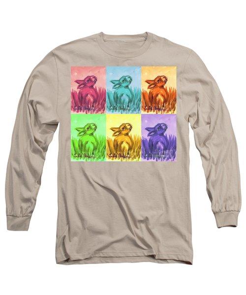 Primary Bunnies Long Sleeve T-Shirt