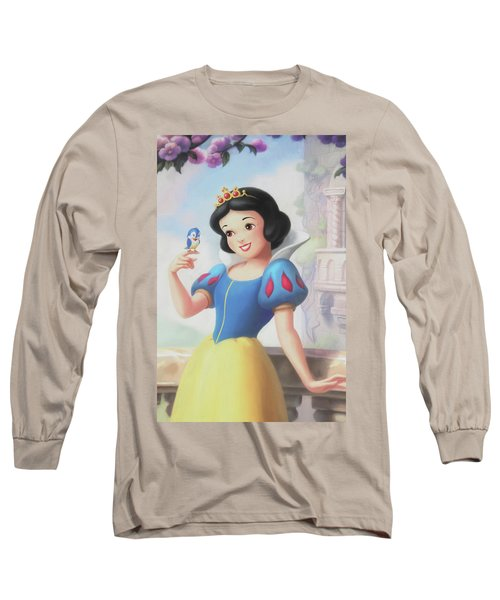 Princess Snow White Long Sleeve T-Shirt by The Art Of Marilyn Ridoutt-Greene