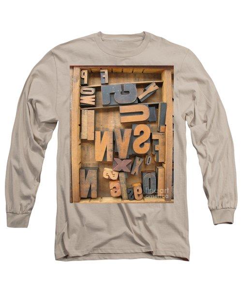 Printers Box Long Sleeve T-Shirt
