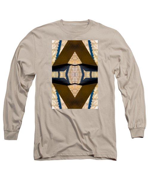 Pritzker Pavilion Gehry N79v2 Long Sleeve T-Shirt by Raymond Kunst