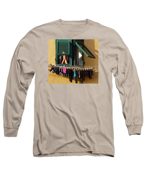 Private Moments Long Sleeve T-Shirt by Amelia Racca