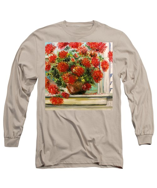 Prize Geranium Long Sleeve T-Shirt