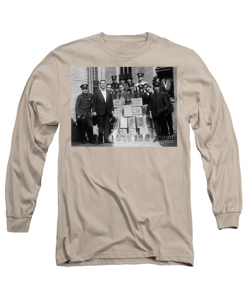 Prohibition Bust Long Sleeve T-Shirt
