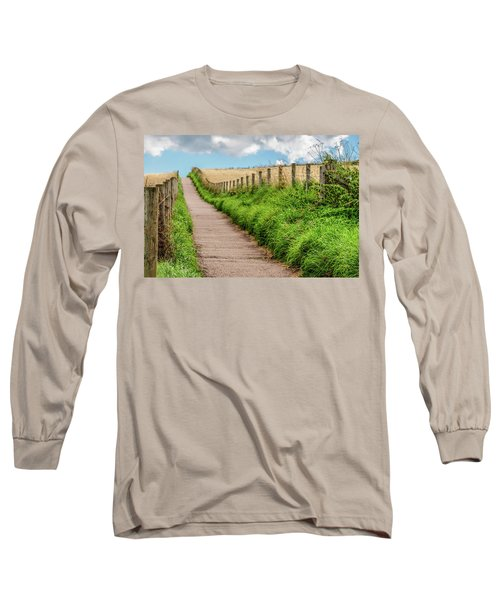 Promenade In Stonehaven Long Sleeve T-Shirt by Sergey Simanovsky