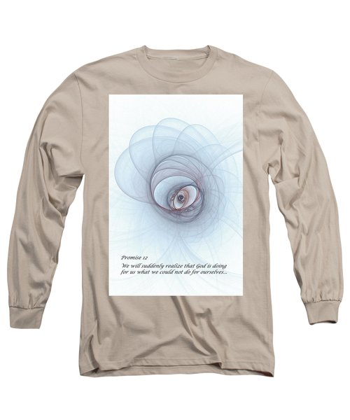 Promise 12 Footprints In The Sand Long Sleeve T-Shirt
