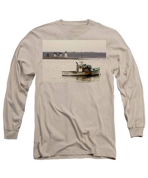 Prospect Harbor Lighthouse Long Sleeve T-Shirt