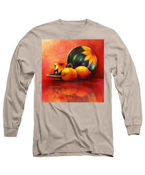 Provence Reflections Long Sleeve T-Shirt