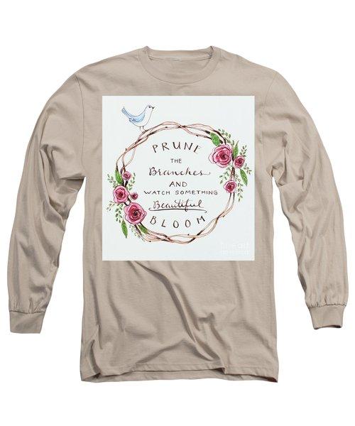 Pruning Long Sleeve T-Shirt by Elizabeth Robinette Tyndall