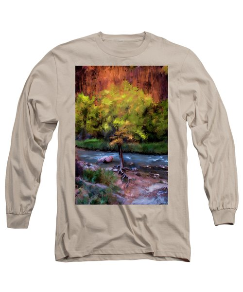 Psalm 1 Long Sleeve T-Shirt by Annette Berglund