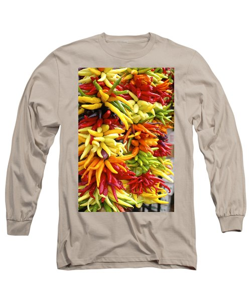 Public Market Peppers Long Sleeve T-Shirt