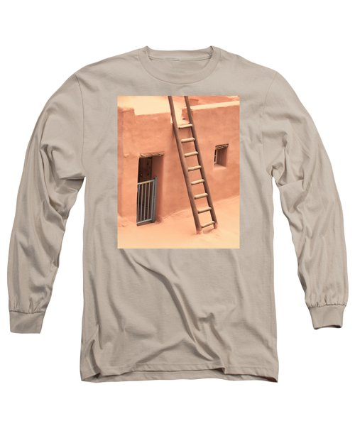 Pueblo Long Sleeve T-Shirt by John Bushnell