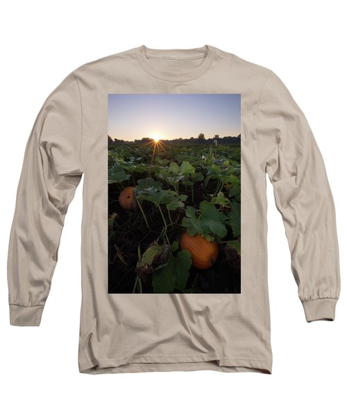 Long Sleeve T-Shirt featuring the photograph Pumpkin Patch by Aaron J Groen