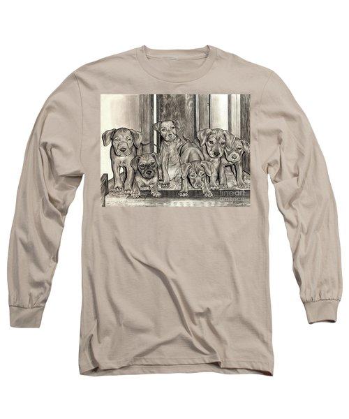 Puppies  Long Sleeve T-Shirt