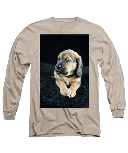 Puppy Portrait Long Sleeve T-Shirt