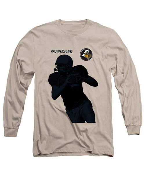 Purdue Football Long Sleeve T-Shirt