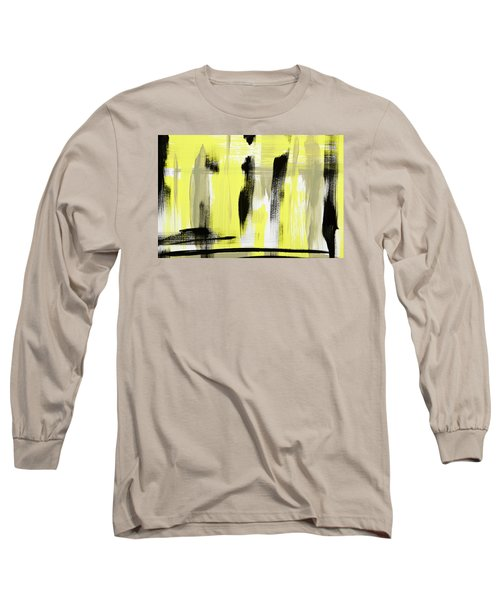 Pure Spirit Abstract Long Sleeve T-Shirt