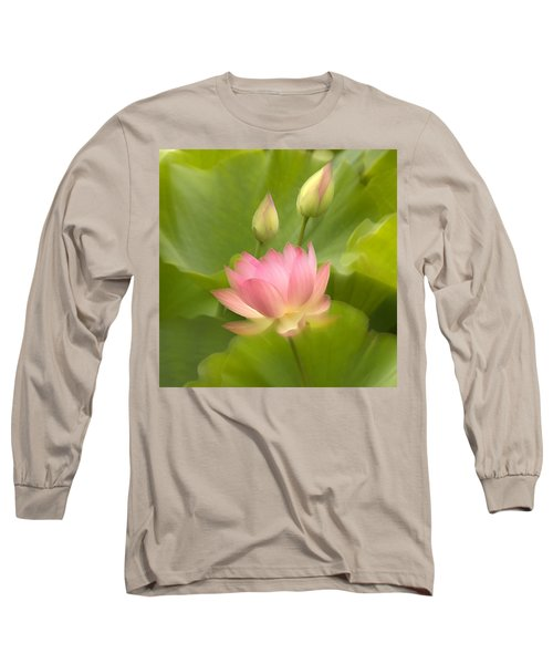Long Sleeve T-Shirt featuring the photograph Purity Reborn by John Poon
